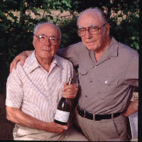 Ernest and Julio Gallo