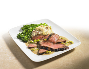 Recipe of the Month: Steak Chinoise with Fresh Ginger and Tamari Cream