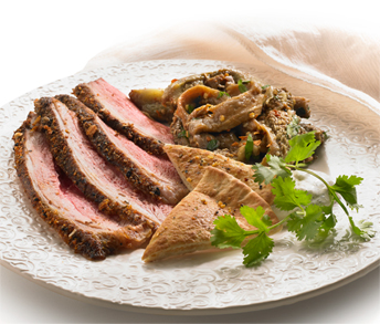 Moroccan Whites Complement Roasted Duck Breast