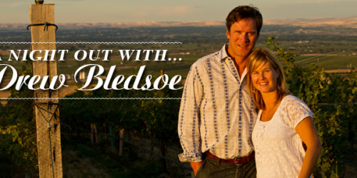 A Night Out With Drew Bledsoe