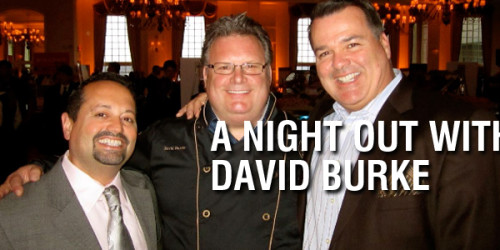 A Night Out With Chef David Burke