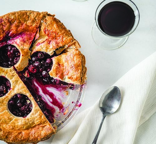 Killer Berry Pie Recipe and Pairing