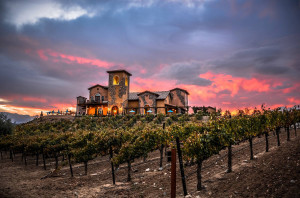 Renzoni Winery in California's Temecula Valley at night / Photo courtesy Matthew Burlile