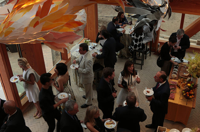 Frank Gehry Reserve Selection unveiling party