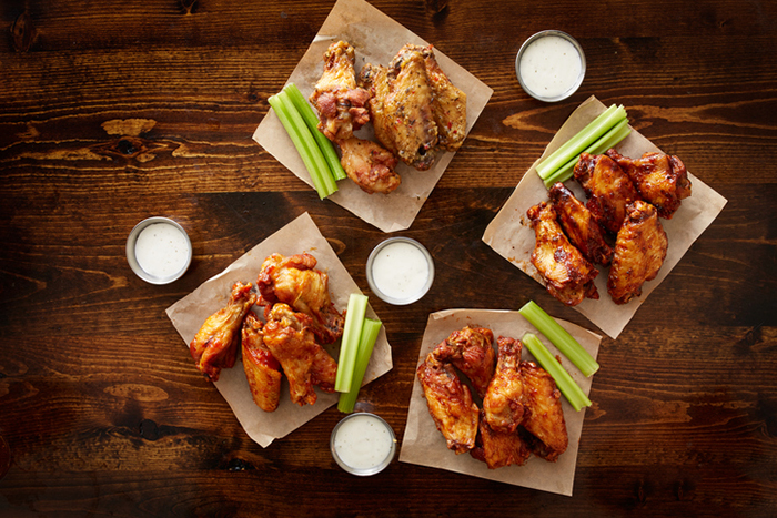 Yuzu Kosho Buffalo Chicken Wings