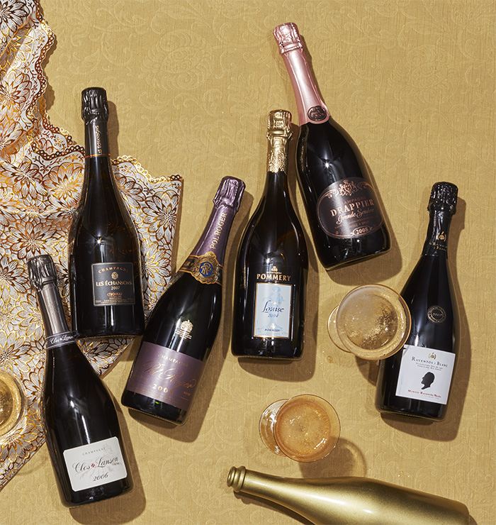 Sparkling wines over $100