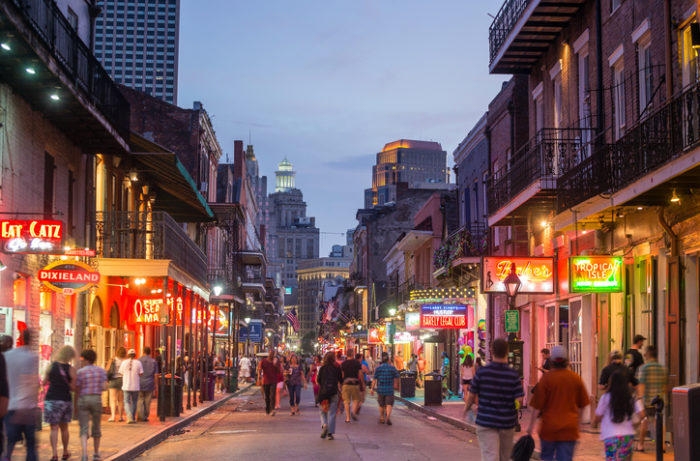 The French Quarter, New Orleans / Getty