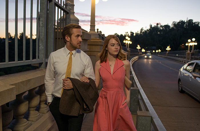 Ryan Gosling and Emma Stone in the Oscar-nominated La La Land / Photo by Dale Robinette, courtesy Lionsgate