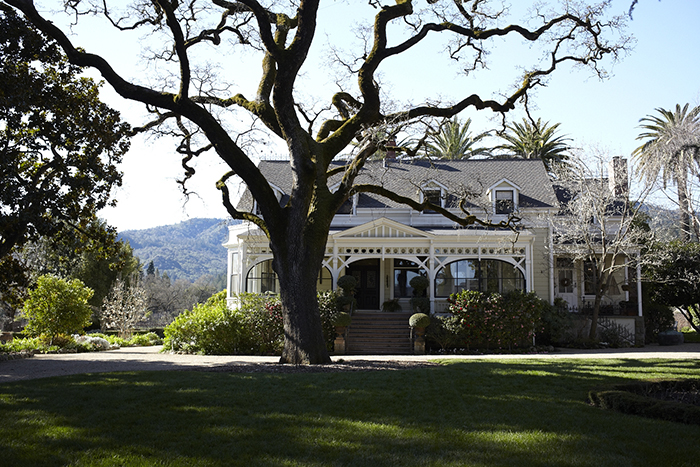 A beautiful day in Napa at Spottswoode / Photo by Katie Newburn