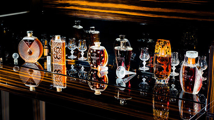 The Macallan in Lalique Legacy Collection