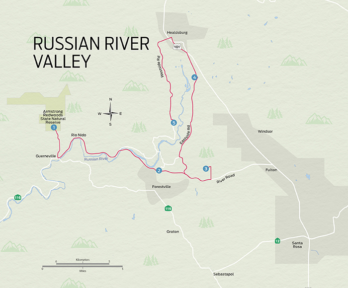 5 Places To Visit In The Russian River Valley Wine Enthusiast