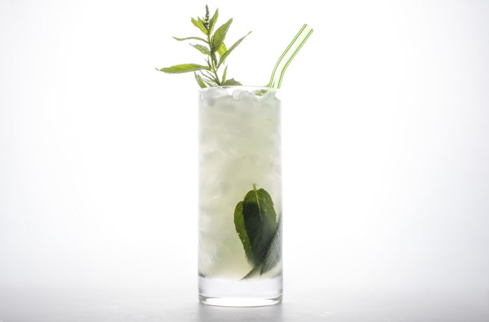 A classico mojito with mint
