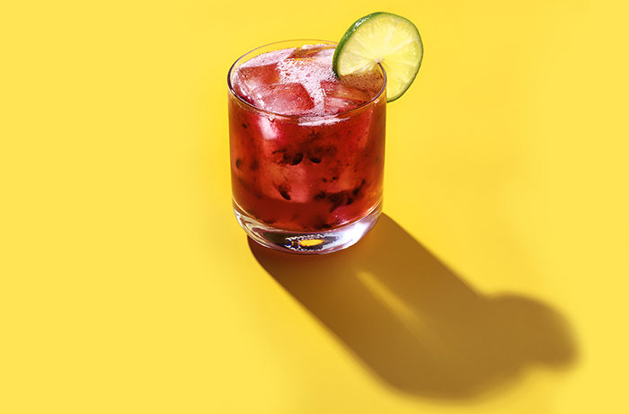 The Blackberry Lime Rickey.