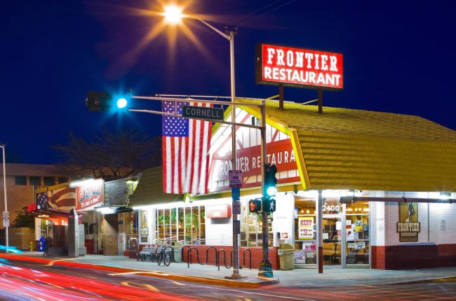 Frontier Restaurant, Albuquerque, New Mexico