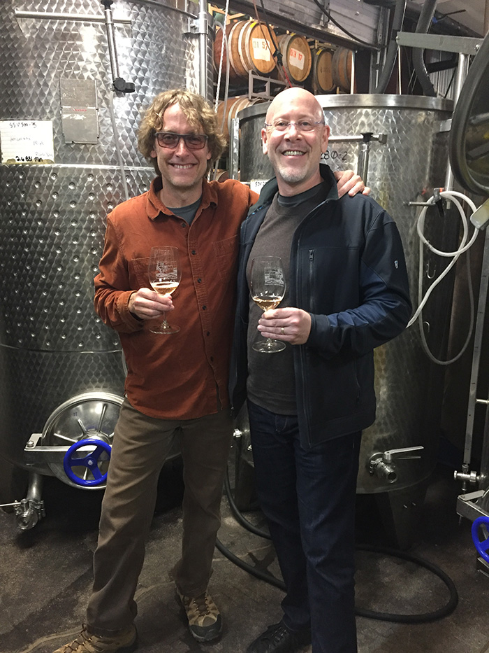 Page Springs Cellars Winemaker Eric Glomski