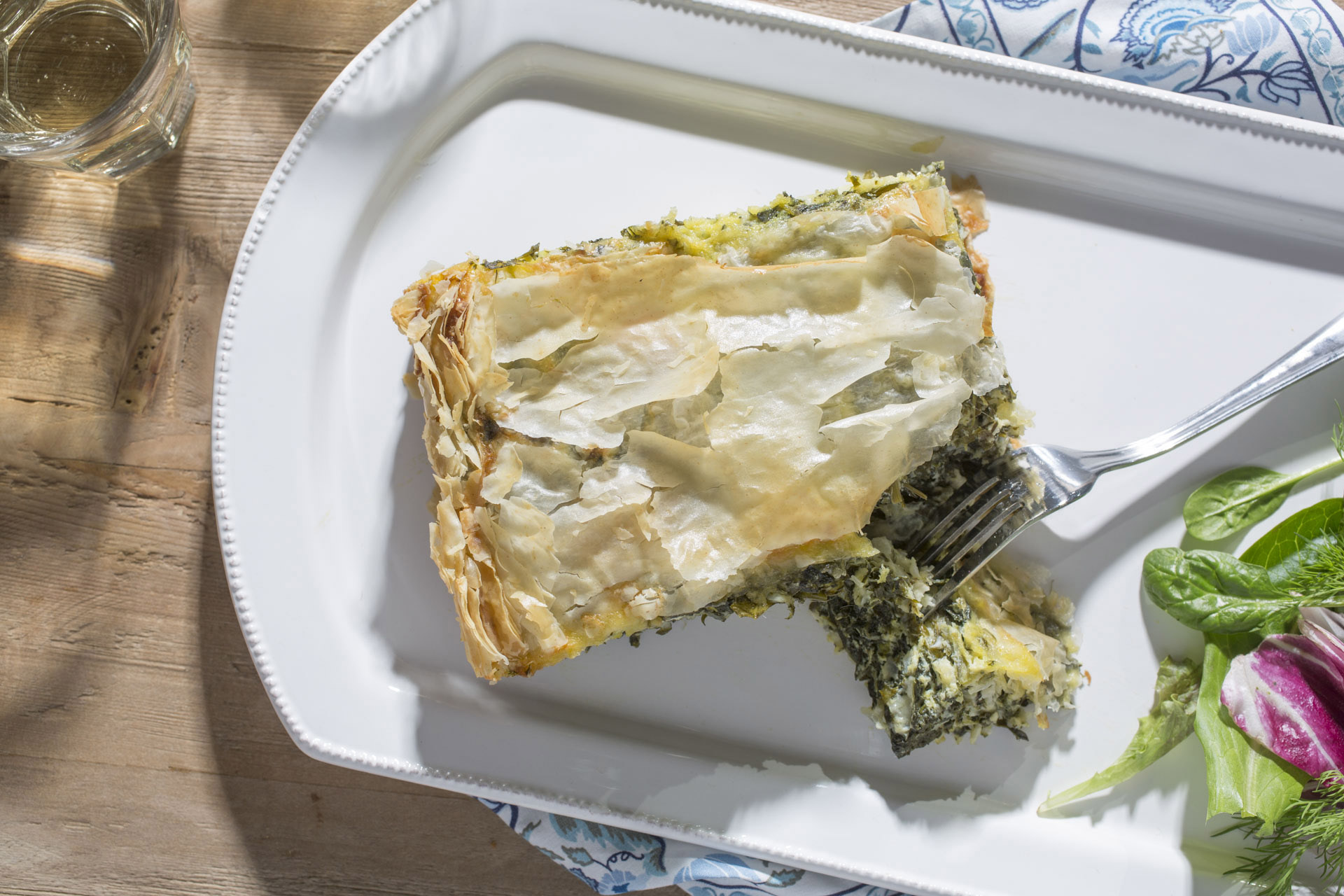 Feta Pie with Spinach