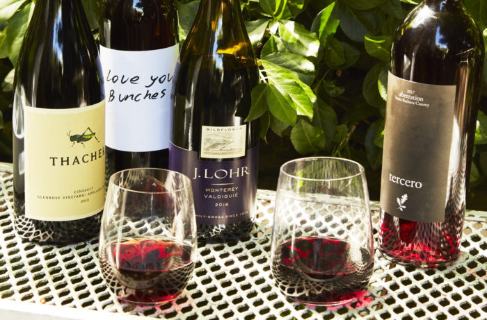 California red wines