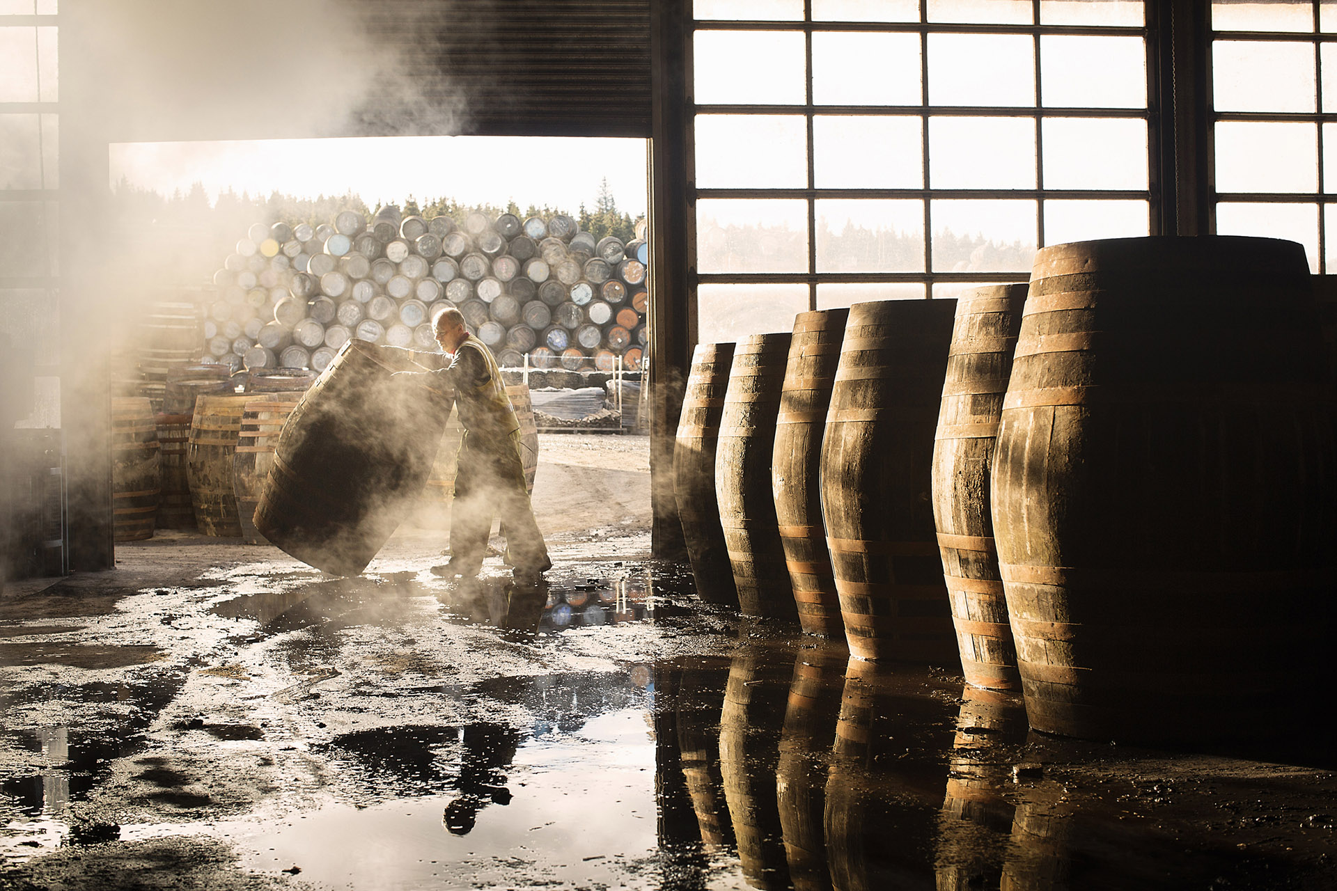 Wood barrels bring their own type of tannins / Getty