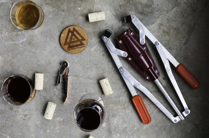 Tools of the trade at All-Wise Meadery / Photo by Katie June Burton