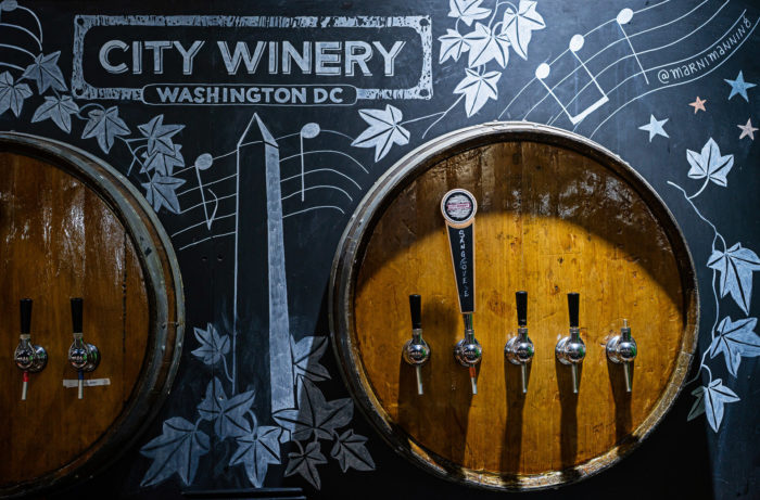 Wine on tap at City Winery, Washington, D.C. / Photo by Scott Suchman