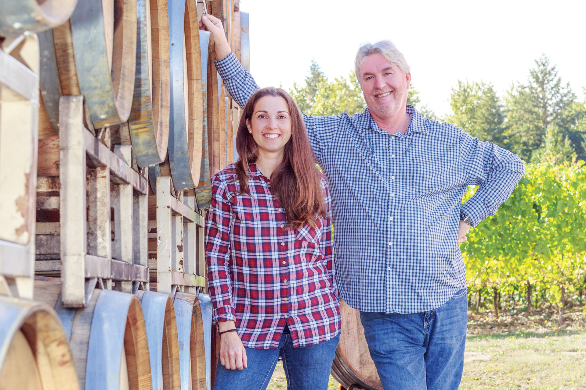 Anne Sery and Laurent Montalieu of NW Wine Company