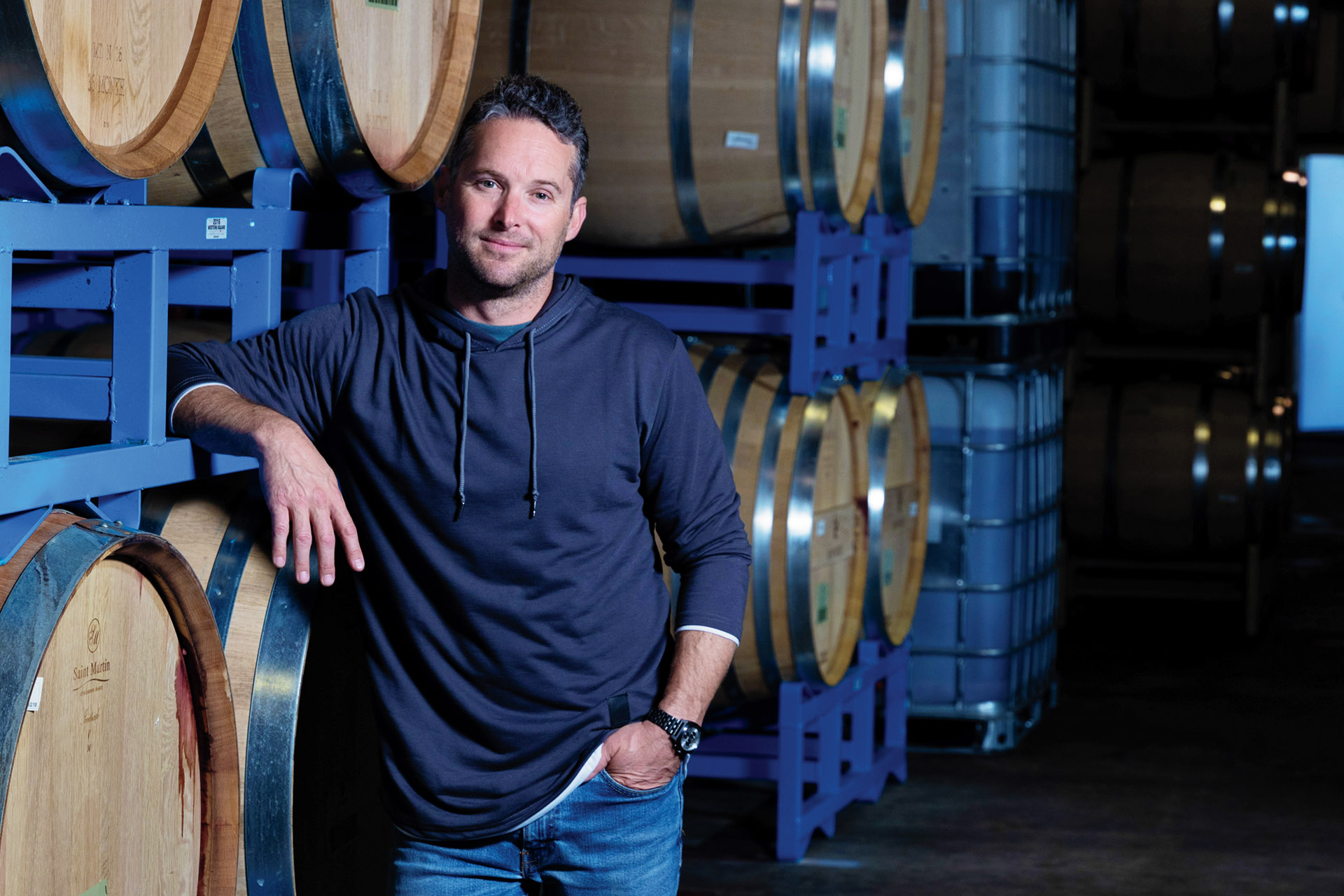 Joe Shebl, director of winemaking and general manager of Renwood Winery