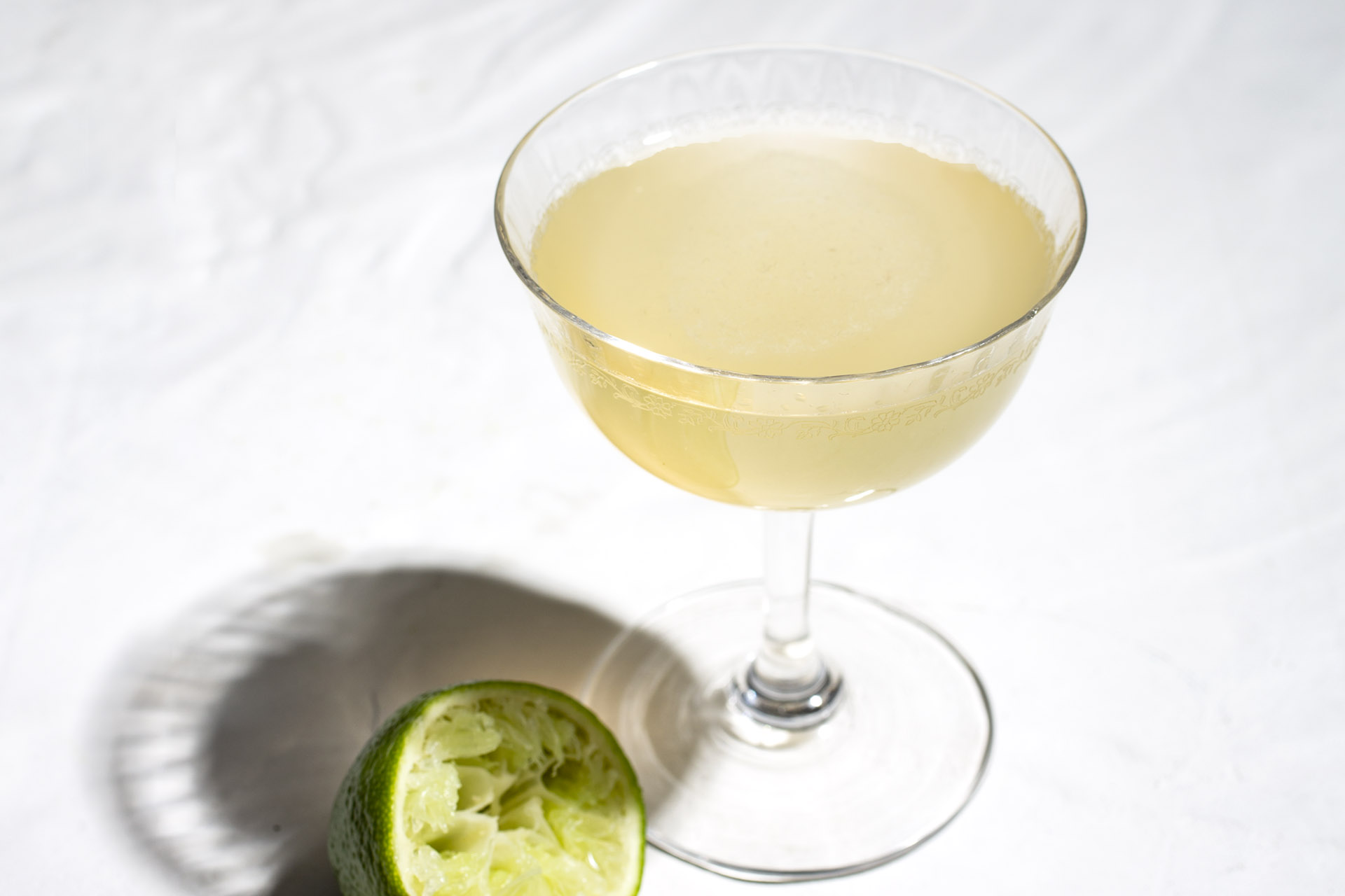 A Tequila Cocktail with a Kick of Ginger