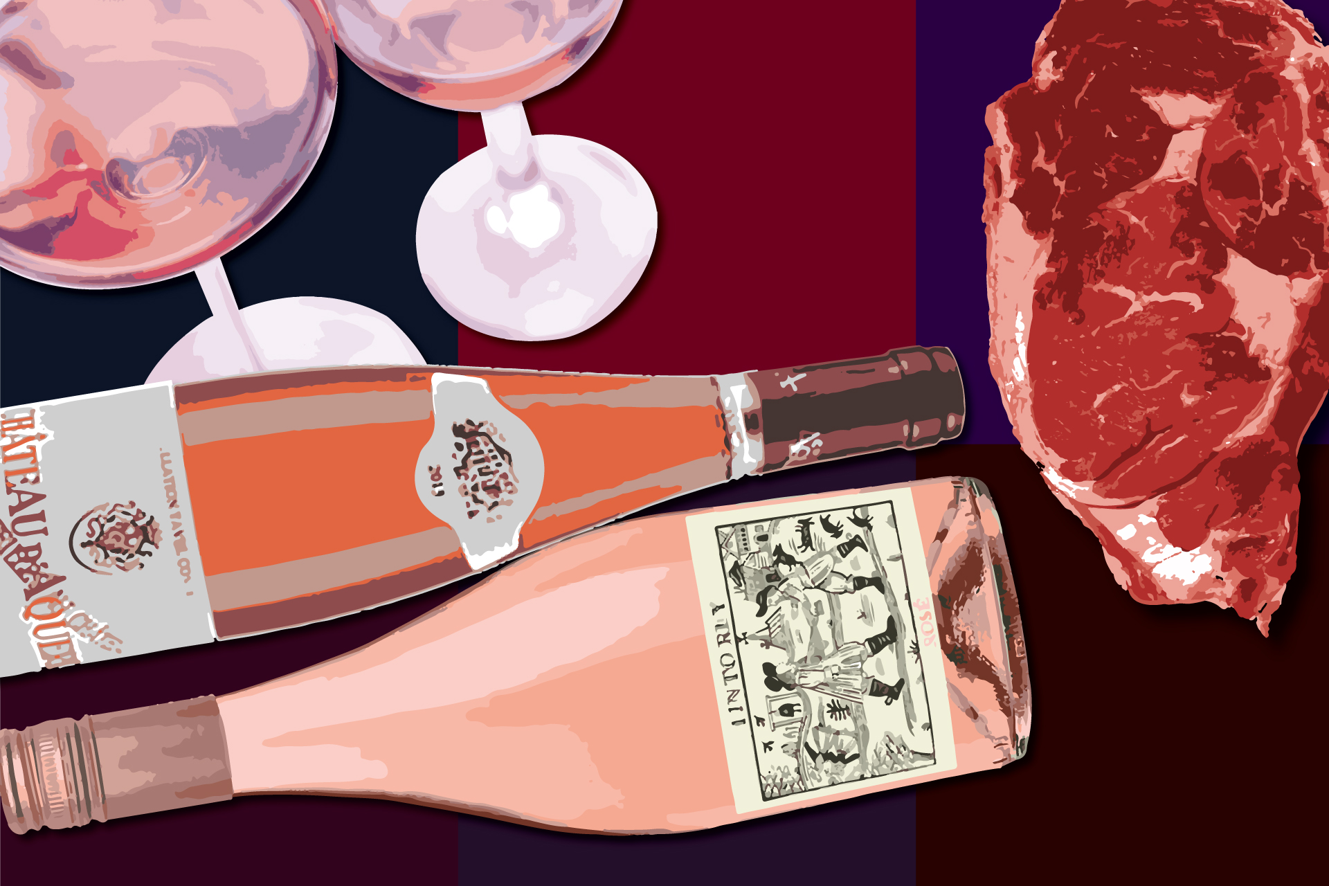 How to Pair Rosé with Steak