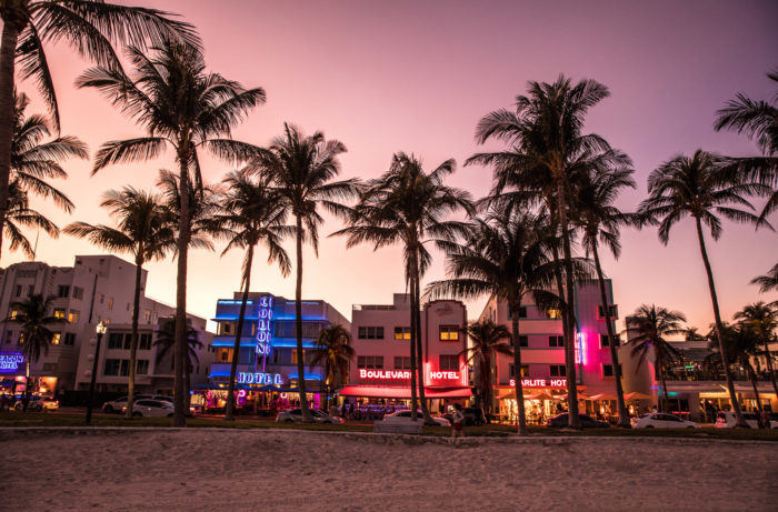 Take a trip behind the neon and into Miami's wine scene / Getty