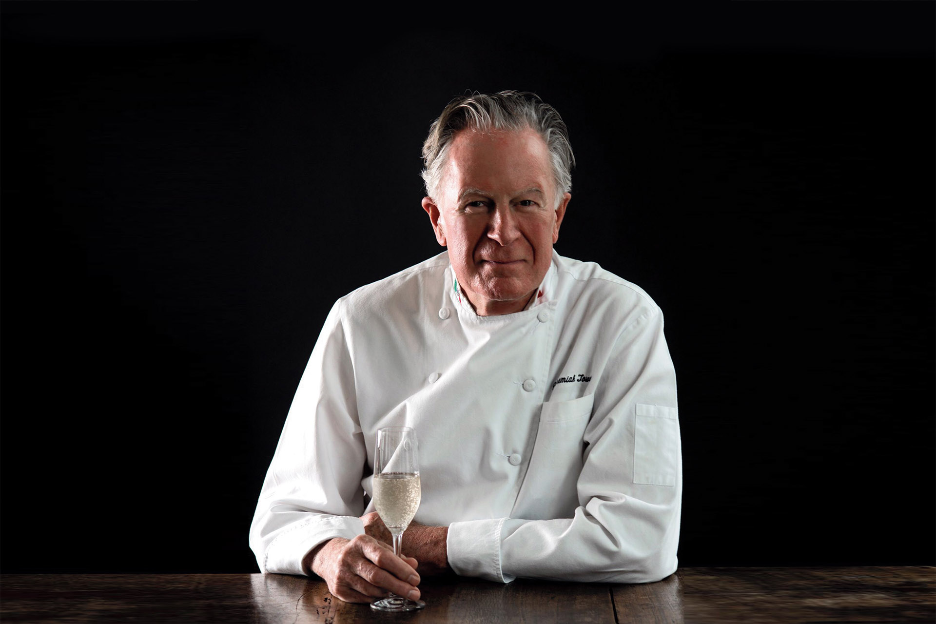 Jeremiah Tower on Champagne in Restaurants