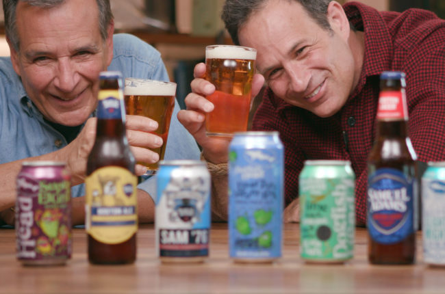 Jim Koch of The Boston Beer Co. and Sam Calagione of Dogfish Head