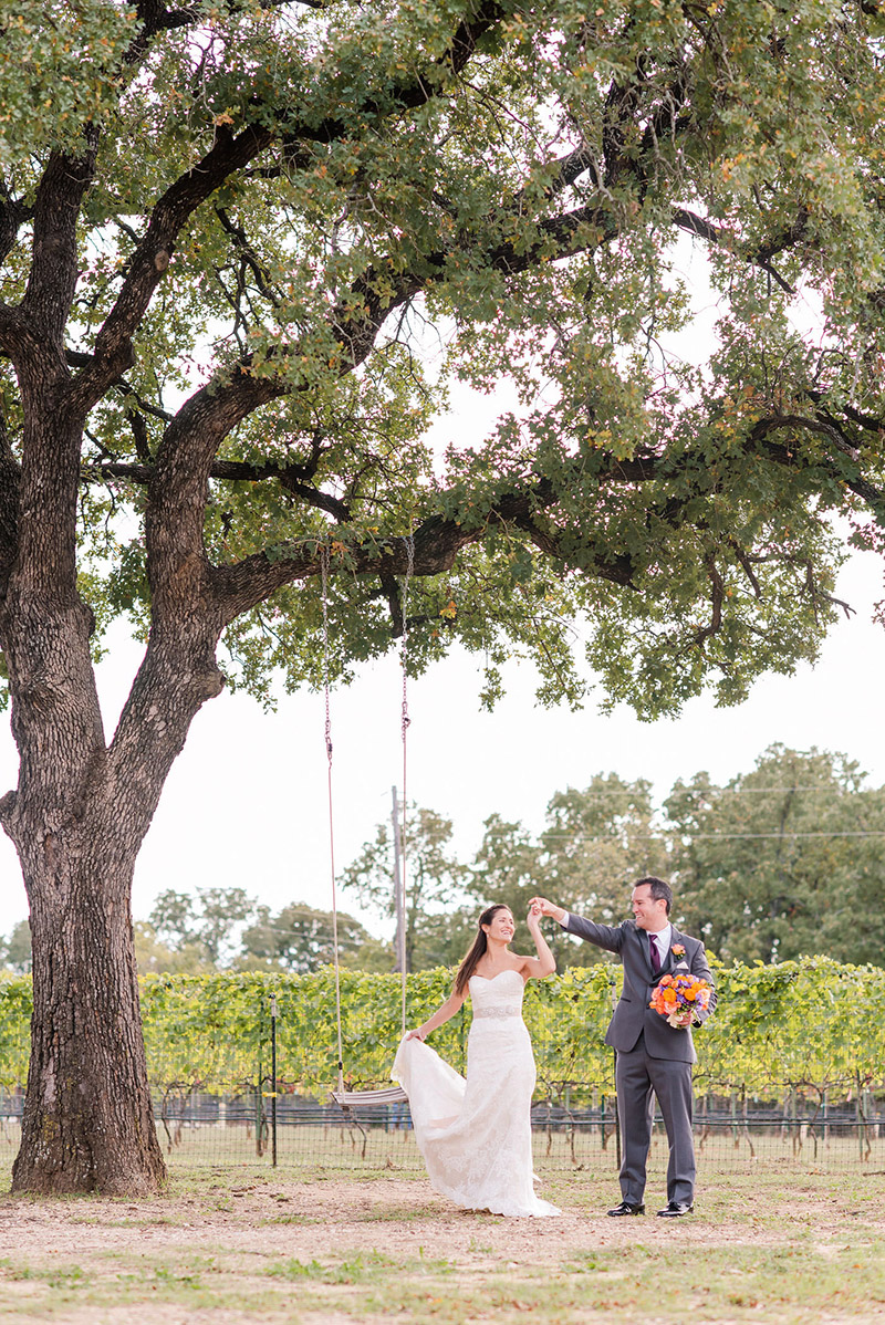Lost Oak Winery in Burleson, Texas / Photo by MaggShots Photography