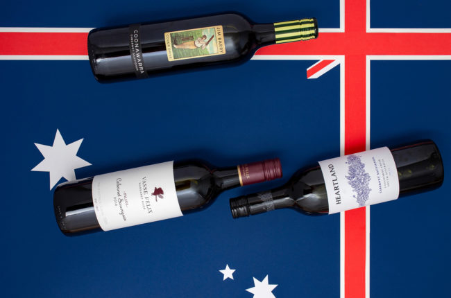 Cabernet from Australia