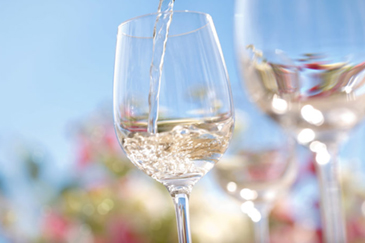 Light-bodied white wines