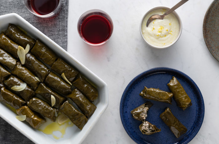 Pork Stuffed Grape Leaf Wraps Wine Enthusiast