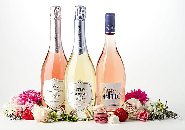 sparkling-wine-rose-food-pairing-Le-Grand-Courtage-Tres-Chic