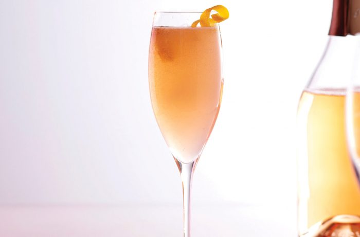 Clink Pink Rosé French 75