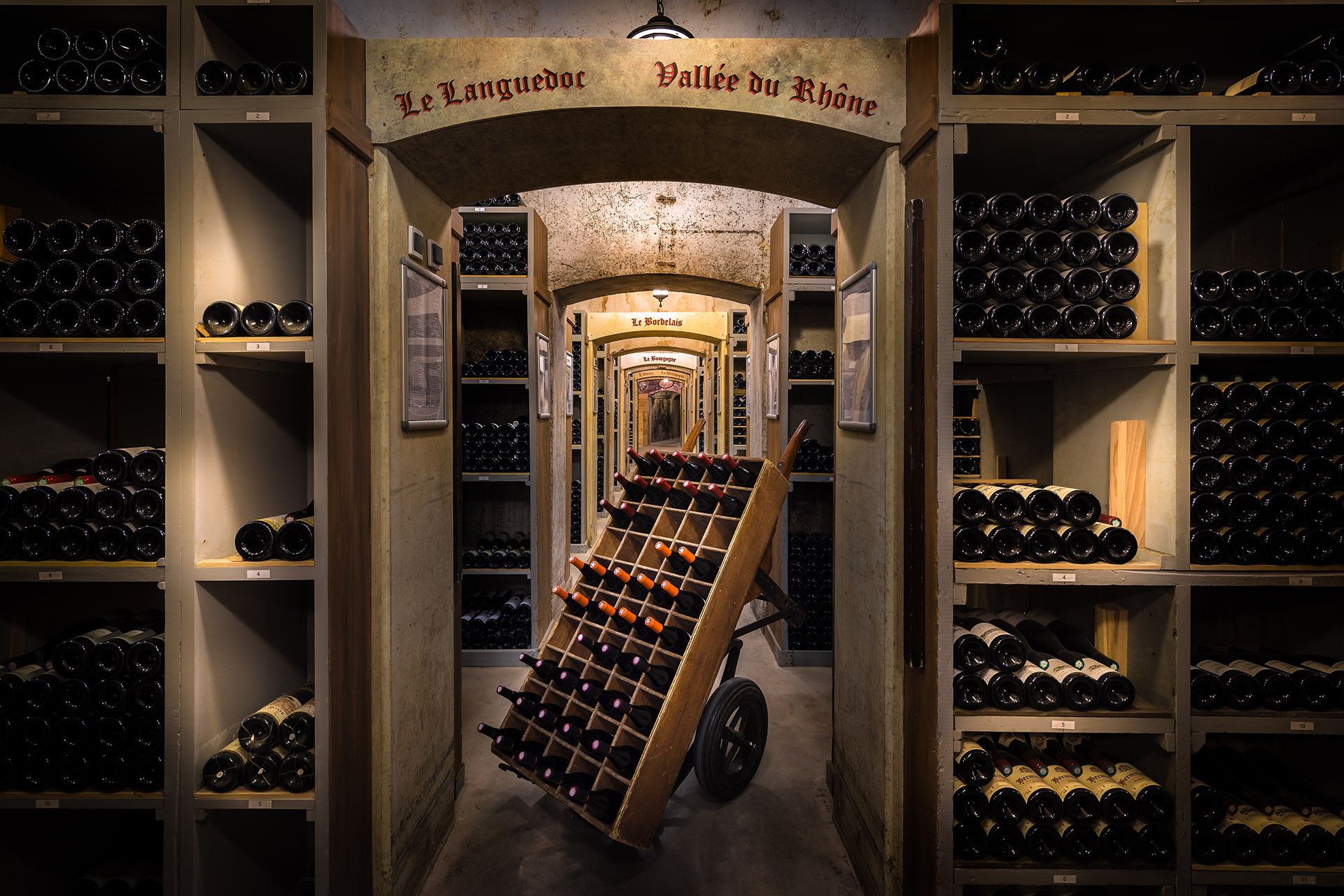 10 Of The World S Largest Wine Collections From An Underground City To A Legendary Steakhouse Wine Enthusiast