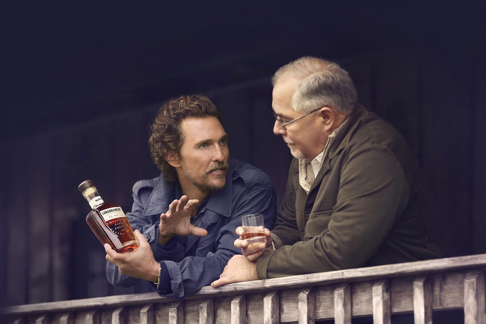 Matthew McConaughey Knows Exactly How He Likes His Bourbon   Wine Enthusiast
