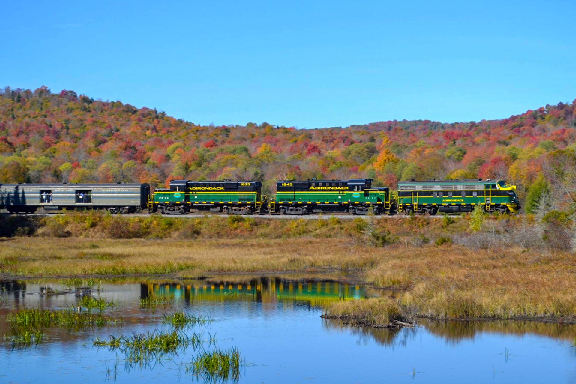 The Adirondack Scenic Beer & Wine Train