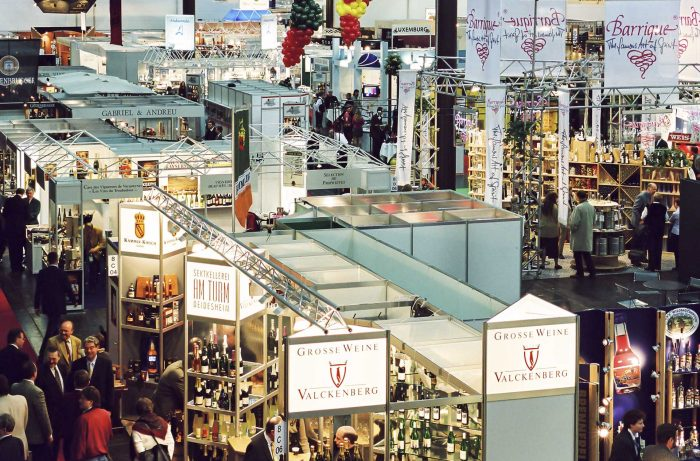 ProWein trade show interior