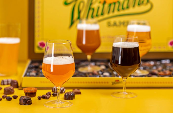 Craft Beer Pairing with Whitman's Sampler