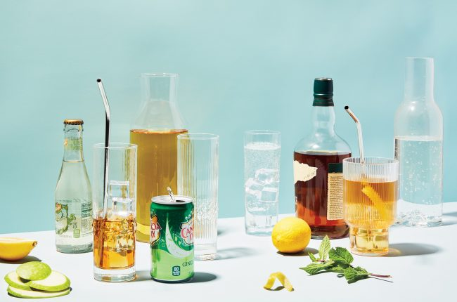 Highball cocktail ingredients