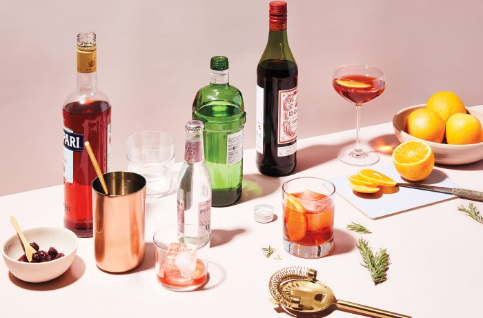 One Negroni, Four Easy Variations