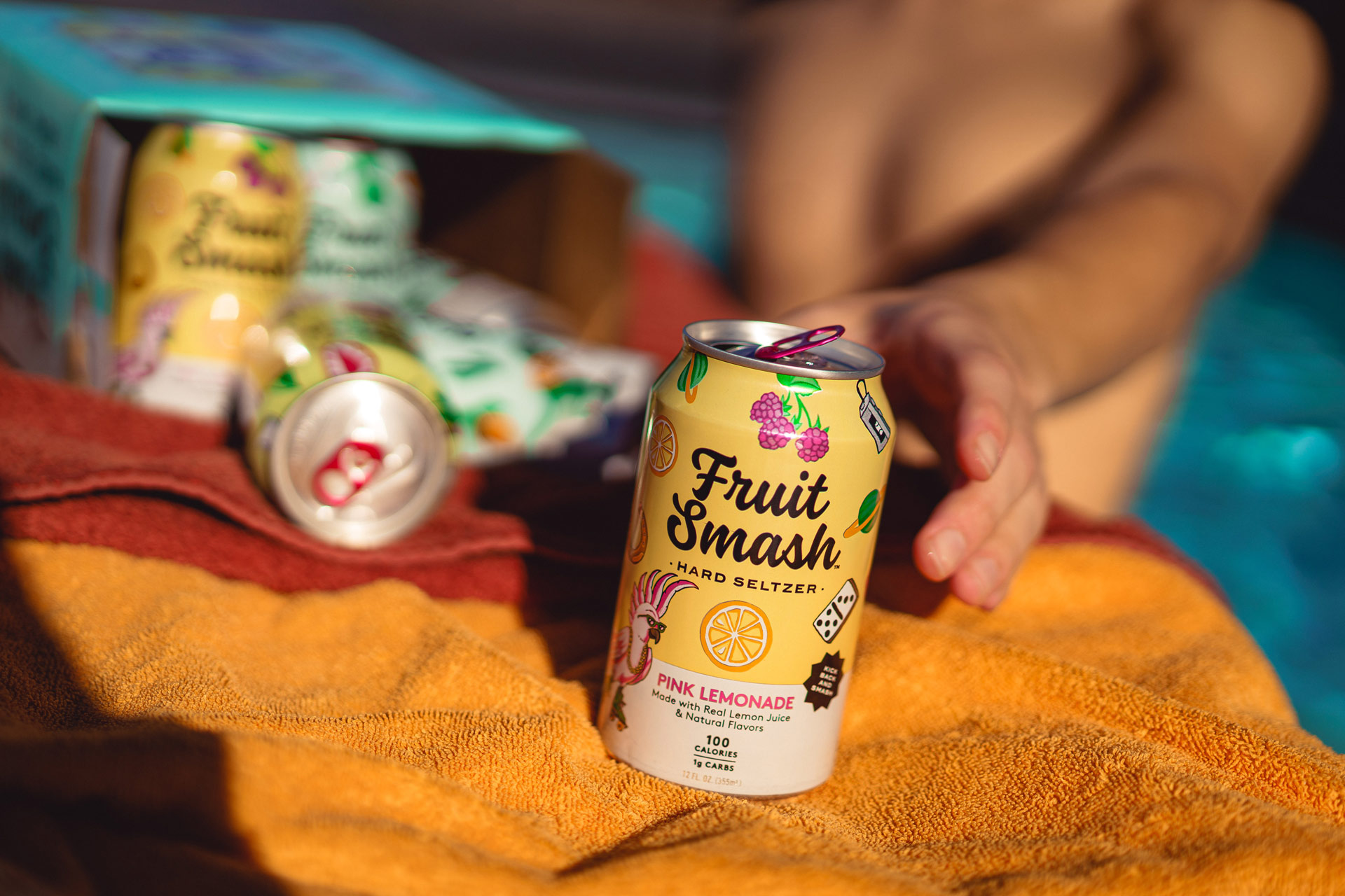 New Belgium Brewing's first line of hard seltzers this spring, Fruit Smash