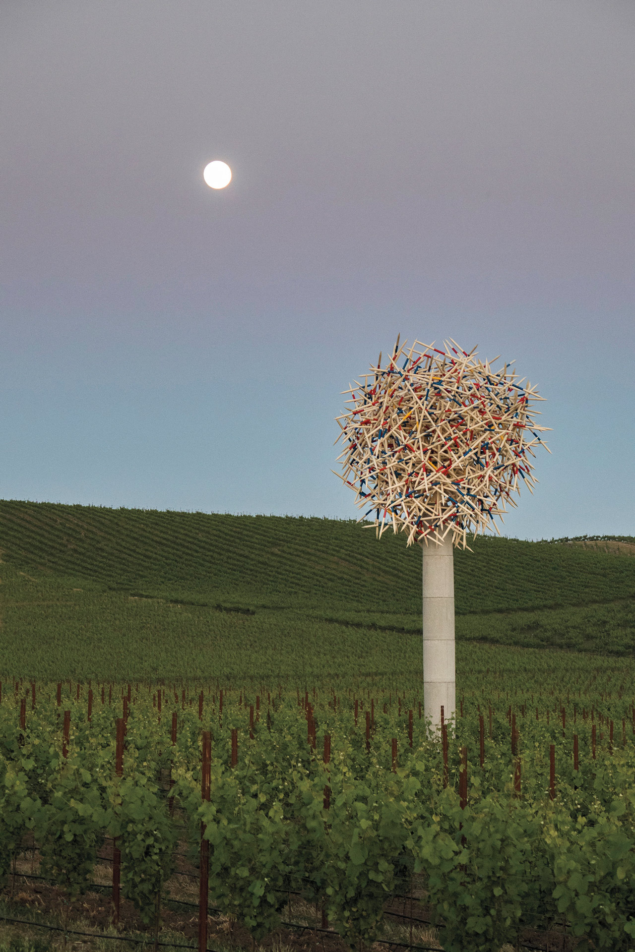 Donum Estate has a sculpture garden filled with work from world-renown artists