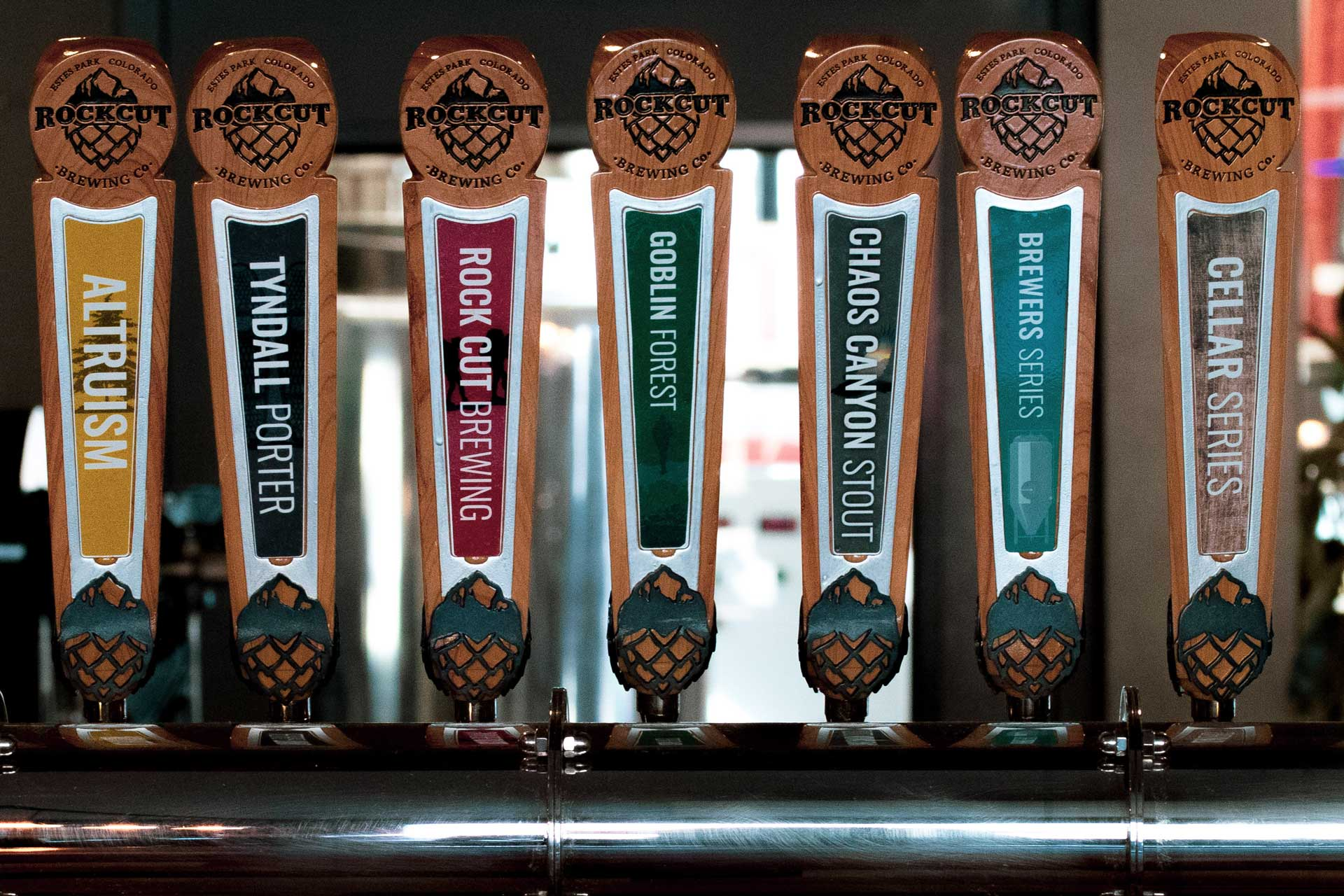 You can fill your growler with what's on tap at Rock Cut Brewing